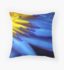 Waterlily Close-up Throw Pillow