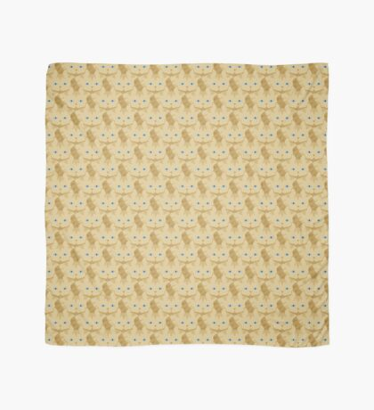 Frappé Brown Tabby Cat Cattern [Cat Pattern] Scarf
