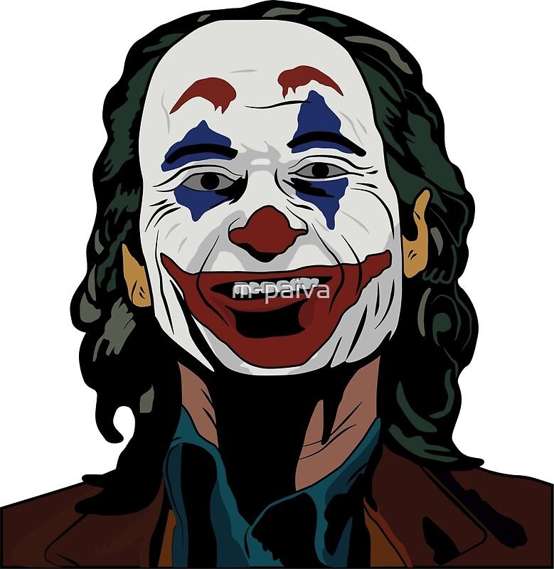 Joker Sonriendo Joaquin Phoenix Lamina Artistica