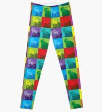 Uniquely quilty colourful Unicorn pattern Leggings