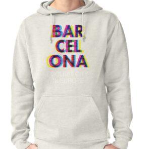 Bolsas de tela «Barcelona Glitch Psychedelic Coolest City in Europe ... 14398b2c07c
