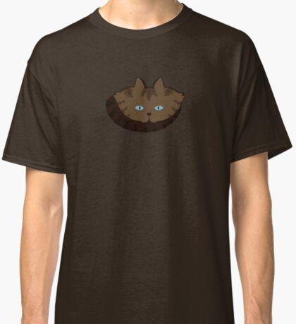 Chai Brown Tabby Cat Cattern [Cat Pattern] Classic T-Shirt