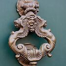 Door Knocker - 2 by Indrani Ghose
