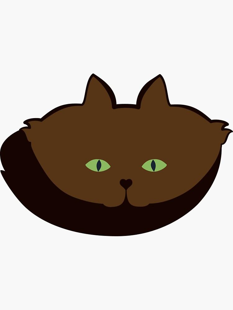 Coffee Brown Cat Cattern [Cat Pattern] by brentpruitt
