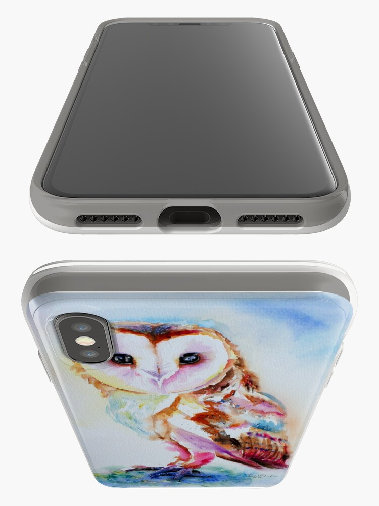 Alternate view of Barn Owl iPhone Cases & Covers