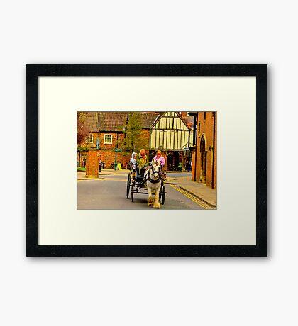 One Horse Power - York Framed Print