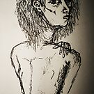 Bruised and Broken-Drawing Day 2010 by strawberries