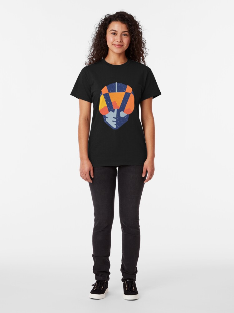 Alternate view of Art Las Vegas aviators logo Classic T-Shirt