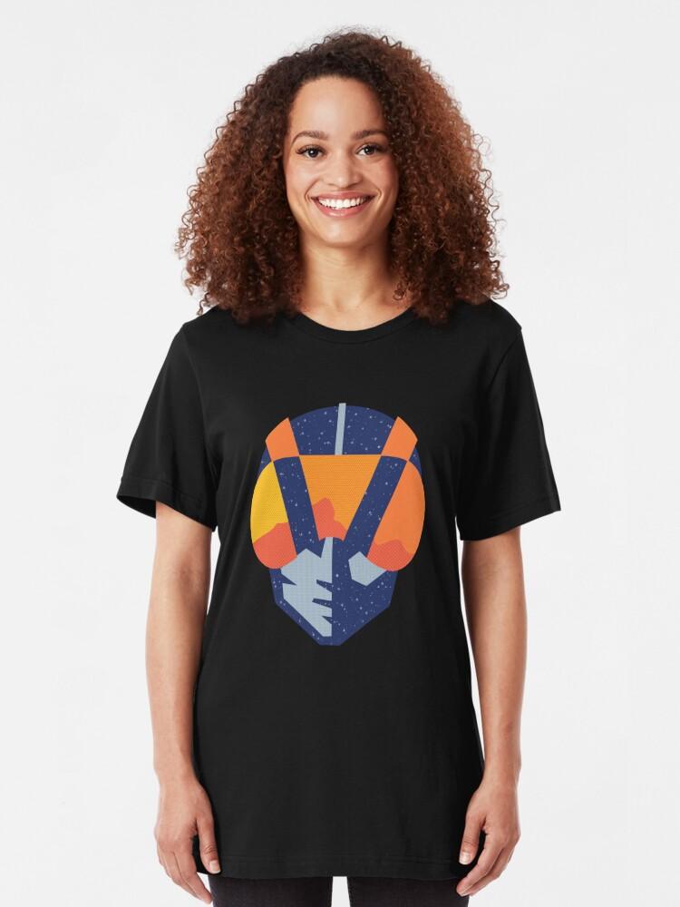 Alternate view of Art Las Vegas aviators logo Slim Fit T-Shirt