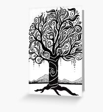 Tree for Drawing Day 2010 Greeting Card