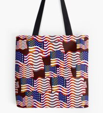 Happy Patterns Independence Day! Tote Bag