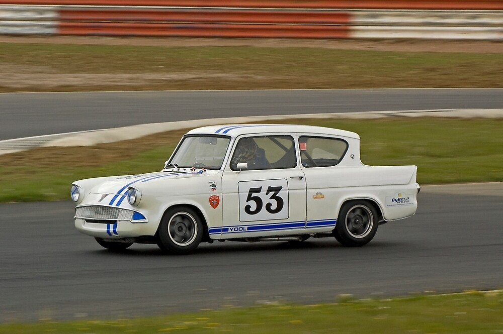Ford Anglia  by Willie Jackson
