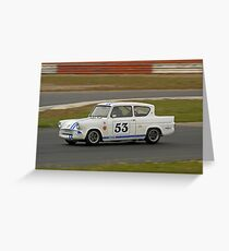 Ford Anglia  Greeting Card