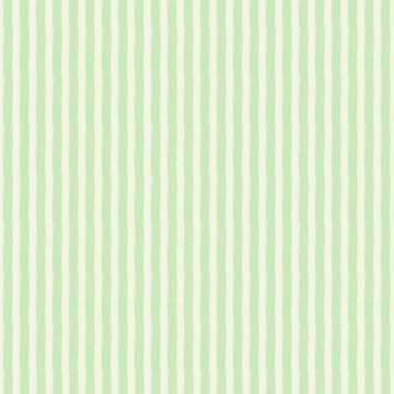 Streaky Hand-Brushed Spearmint Mint Vertical Stripes by podartist