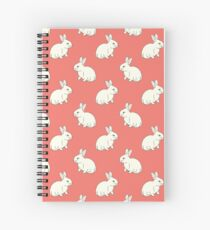 White Rabit Spiral Notebook