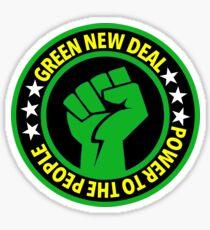 GREEN New Deal Sticker