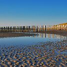 Reflections on the beach 8 by Adri  Padmos