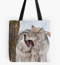 Timber Wolves Tote Bag