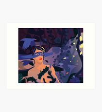 Mistery of the Game of Thrones Art Print