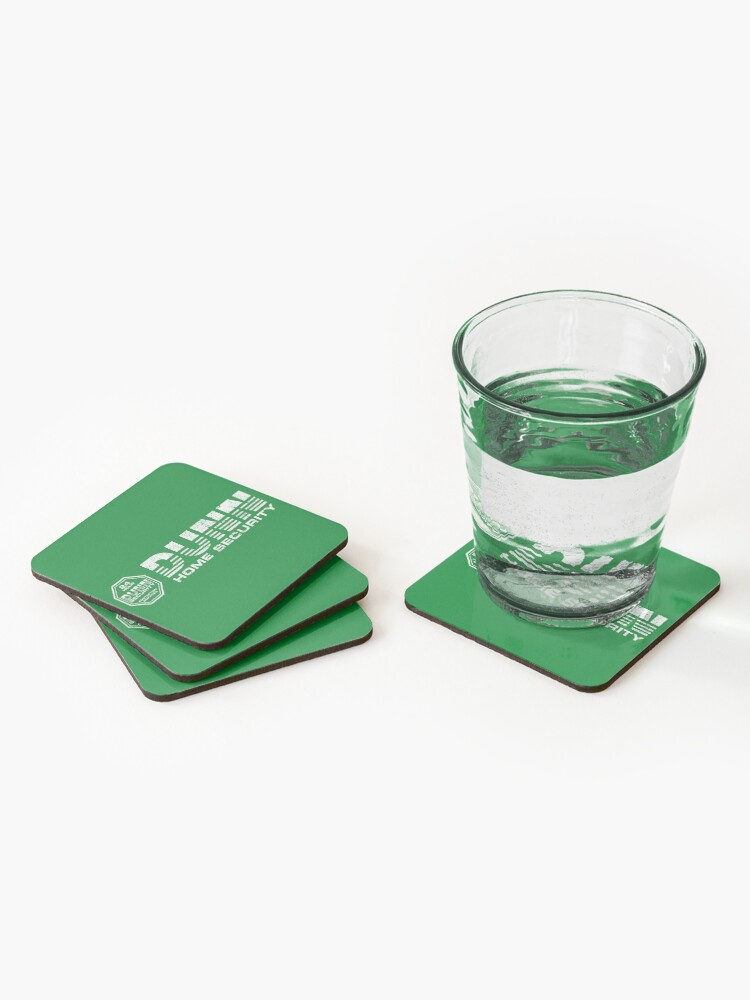 Alternate view of Dunn Home Security (Variant) Coasters (Set of 4)