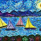 Moonlight Sail by Monica Engeler