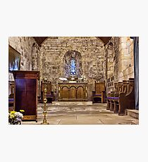 The Chancel Photographic Print