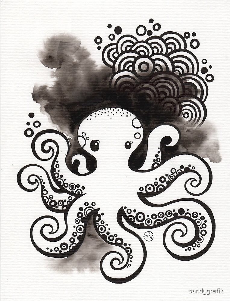Drawing Day ~ Fear by sandygrafik