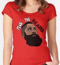 James Harden: Fear the beard  Women's Fitted Scoop T-Shirt