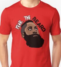 0364dea6839 James Harden Fear the Beard Design   Illustration T-Shirts