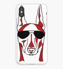 Doberman with Sunglasses iPhone Case