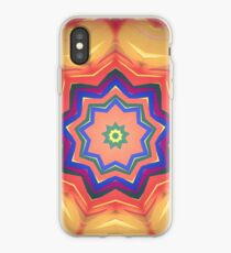Here Comes the Sun Mandala Art - Yoga Lover Gift iPhone Case