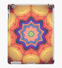 Here Comes the Sun Mandala Art - Yoga Lover Gift iPad Case/Skin