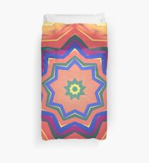 Here Comes the Sun Mandala Art - Yoga Lover Gift Duvet Cover