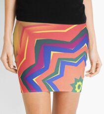 Here Comes the Sun Mandala Art - Yoga Lover Gift Mini Skirt