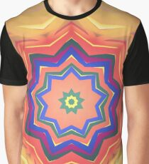 Here Comes the Sun Mandala Art - Yoga Lover Gift Graphic T-Shirt