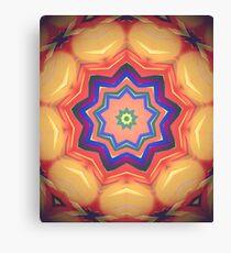 Here Comes the Sun Mandala Art - Yoga Lover Gift Canvas Print