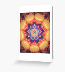Here Comes the Sun Mandala Art - Yoga Lover Gift Greeting Card