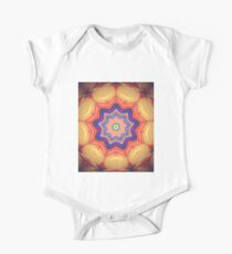 Here Comes the Sun Mandala Art - Yoga Lover Gift One Piece - Short Sleeve
