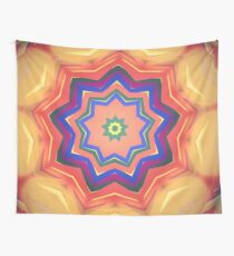Here Comes the Sun Mandala Art - Yoga Lover Gift Wall Tapestry