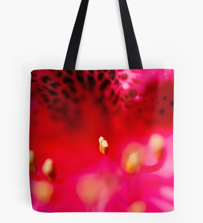 Rhododendron detail Tote Bag