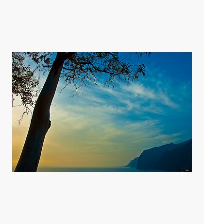 The cliffs at Los Gigantes, Tenerife Photographic Print