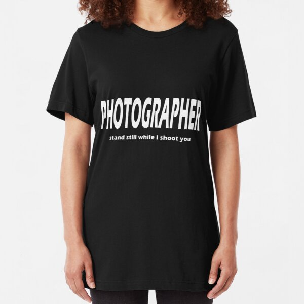Photographer Slim Fit T-Shirt