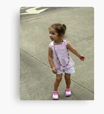 Dancing in the Streets Canvas Print