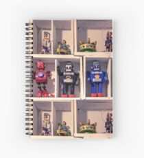 Toy Robots Spiral Notebook