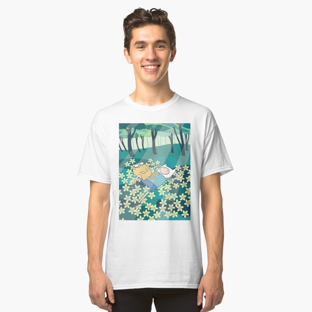 Field of Flowers (Adventure Time) Classic T-Shirt