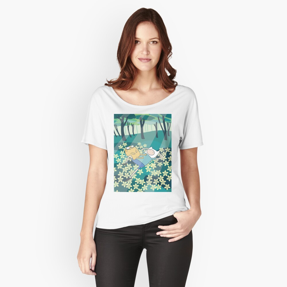 Field of Flowers (Adventure Time) Relaxed Fit T-Shirt