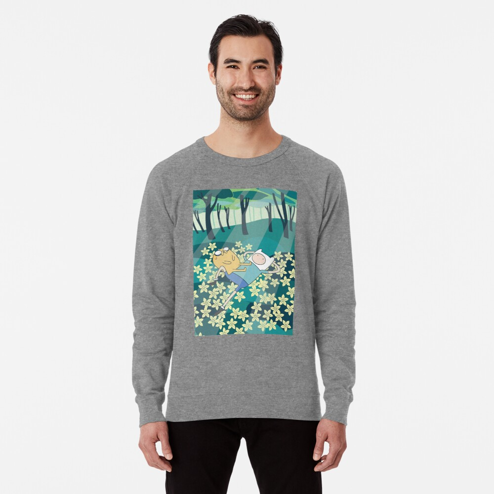 Field of Flowers (Adventure Time) Lightweight Sweatshirt