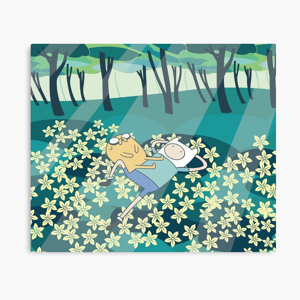 Field of Flowers (Adventure Time) Canvas Print