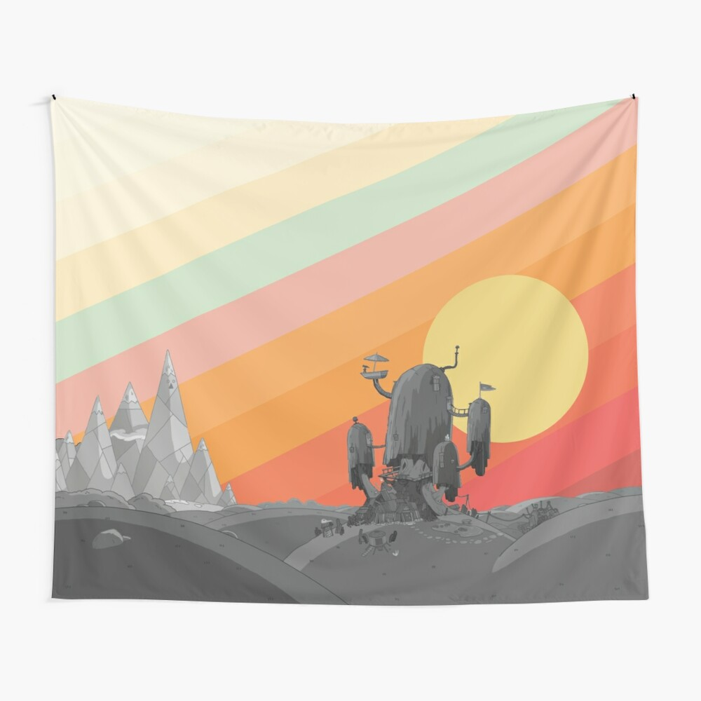 Land Of Ooo (Adventure Time) Wall Tapestry