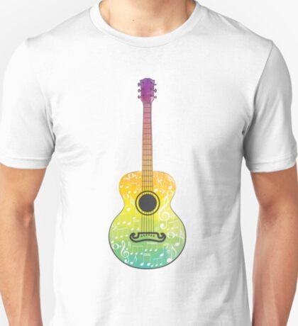 Polygonale Gitarre T-Shirt